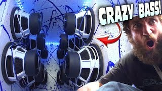 "CRAZY 12"" Subwoofer Demos w/ 18 12s & EXTREME LOW Bass Songs *WARNING* LOUD Car Audio Installs!!!"