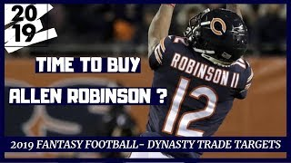 2019 Fantasy Football - Dynasty Trade Targets - Players to Buy Low