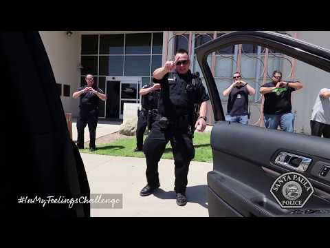 Santa Paula Police: In My Feelings Challenge (Keke) Do You Love Me Challenge