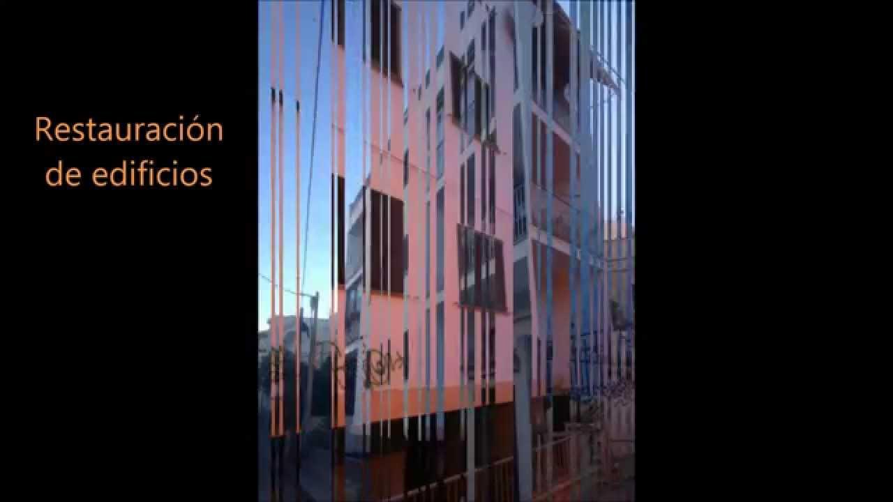 Trabajos verticales para la rehabilitaci n de fachadas for Trabajos verticales en palma