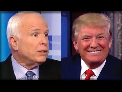 MCCAIN IS OVER! WHAT JUST LEAKED ABOUT MCCAIN AND RUSSIA HAS TRUMP GRINNING FROM CHEEK TO CHEEK!