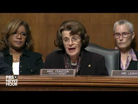 Feinstein says Kavanaugh nomination a 'test' for how we treat women
