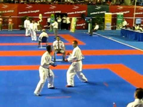 Karate Sea Games 2011 - Indonesia - Umar Syarief vs Vietnam
