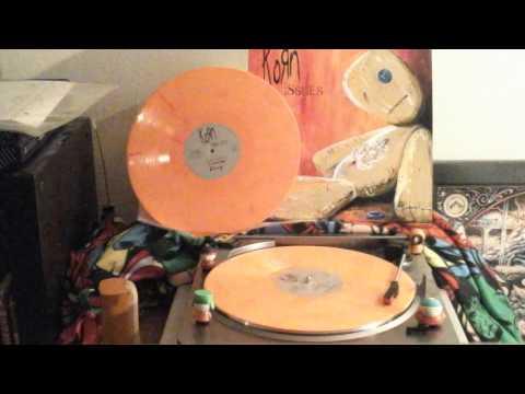 Korn - Falling Away from me  (Flame orange vinyl)