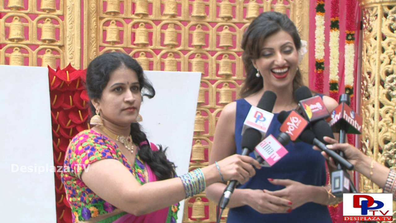 Telugu Movie Actress Hamsa Nandini speaking to the media at  NATA Convention 2016.