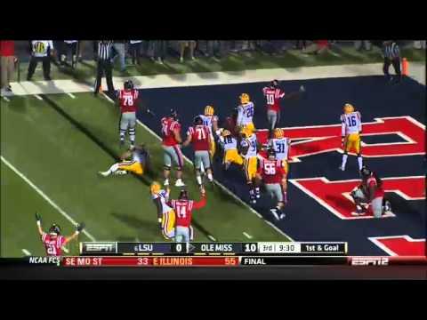 10 19 2013 LSU Vs Ole Miss Football Highlights