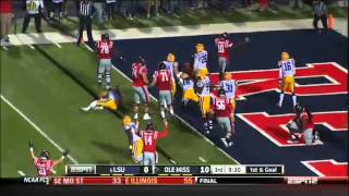 10/19/2013 LSU vs Ole Miss Football Highlights