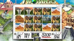 Online Slot Casino Game - 7 WONDERS