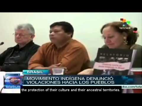 Brazil: Indigenous movements denounce human rights violations