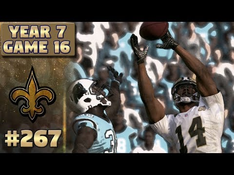 History In The Making? | @ CAR (S7,G16) | Madden NFL 17 New Orleans Saints Franchise Ep. 267