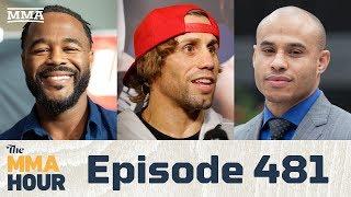 The MMA Hour: Episode 481 (w/ Urijah Faber, Rashad Evans, Ali Abdelaziz in studio)