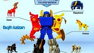 Animal Transformer (Mainan Robot dari Hewan) hadiah dari CFC