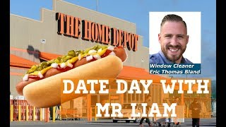 Daily Vlog nothing like Home Depot hot dogs, kid day at Home Depot with Eric & liam Thomas Bland