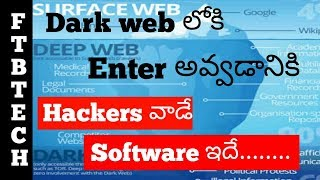 Software Used By Hackers To Enter Into Deep Web Fully Explained In Telugu 2018 || Hacking Software