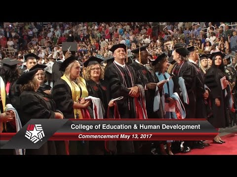 College of Education & Human Development Commencement May 2017 | Lamar University