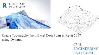 Creating Topography from Excel Data Point in Revit 2017 using Dynamo