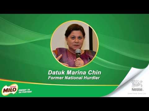 Up Close With Malaysia's Champions - Datuk Marina Chin part 4