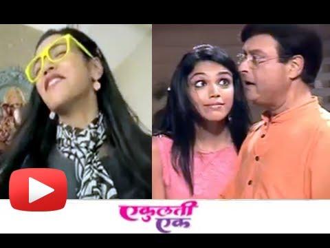 Marathi Movie Ekulti Ek - Thodi Taiyyari Song  Making Scenes- Shriya Pilgaonkar, Sachin Pilgaonkar