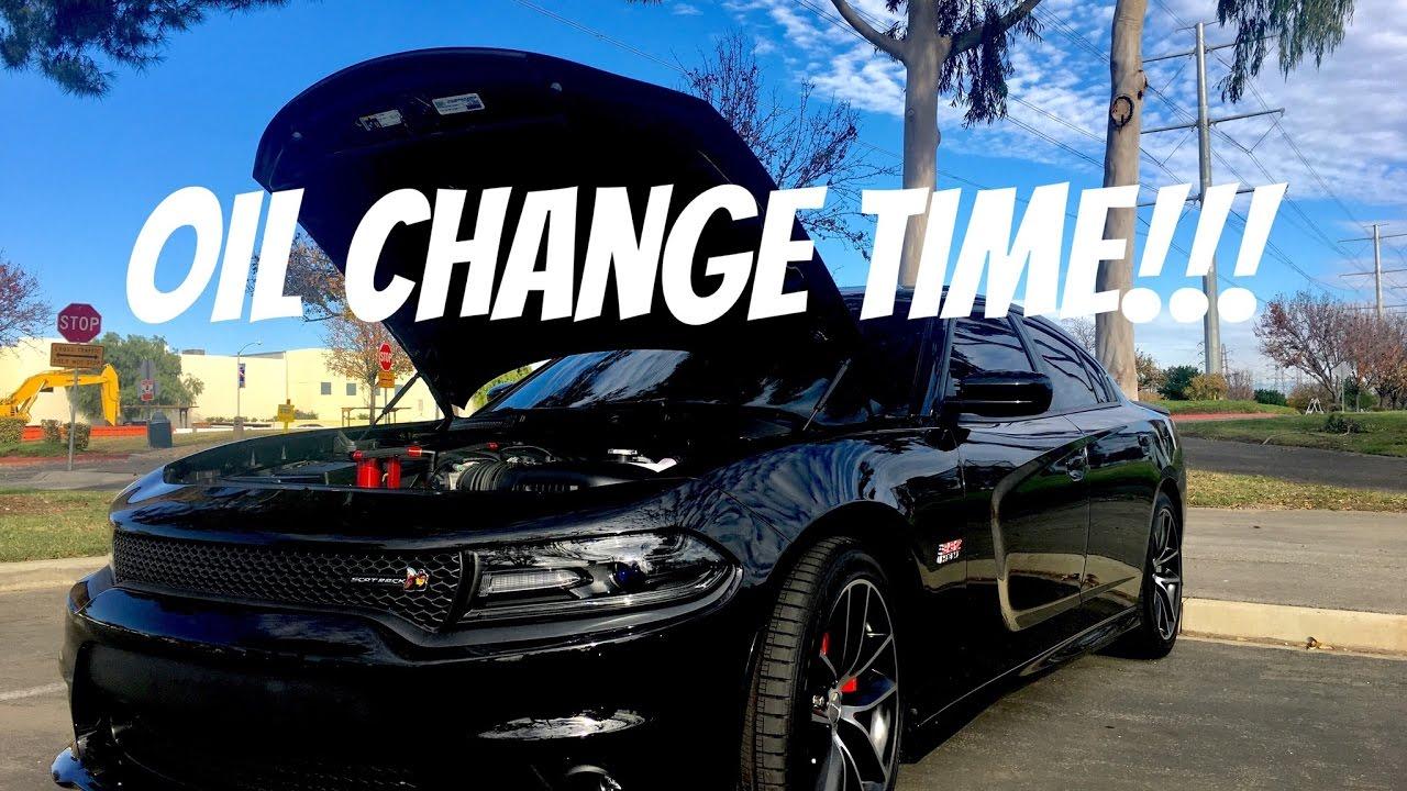 dodge charger scat pack oil change price 2 Dodge Charger Scat Pack - Oil Change & SRT Filter Upgrade