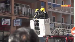 Wohnungsbrand am Ballermann 2 auf Mallorca