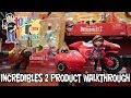 The Incredibles 2 Jakks Pacific Product Walkthrough at New York Toy Fair 2018