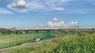 東海道新幹線@多摩川 上り