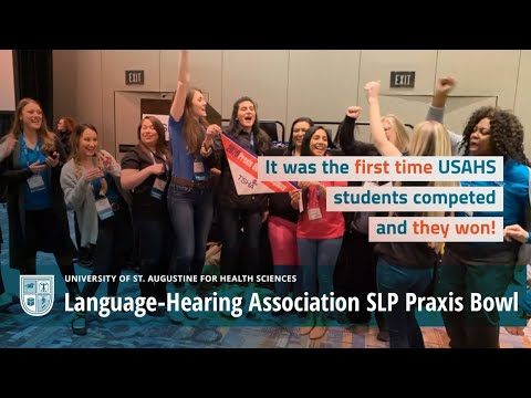 Texas Speech-Language-Hearing Association SLP Praxis Bowl Video