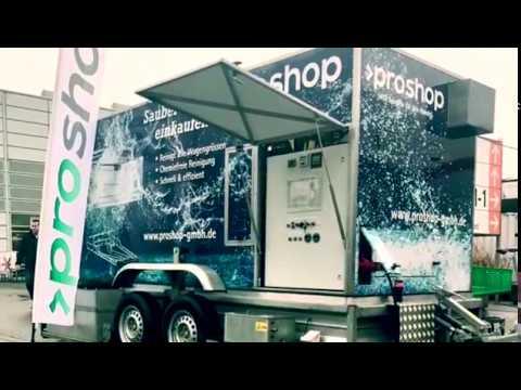 Einkaufswagen Reinigung - proshop GmbH