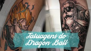 20 Tatuagens do Dragon Ball para você se inspirar