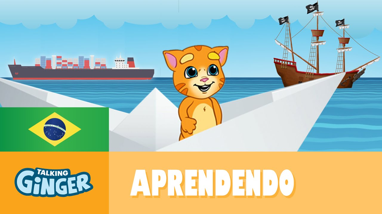 Ginger Desenho intended for talking ginger e os navios incríveis - youtube
