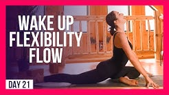 10 min Full Body Flexibility Yoga To WAKE UP – Day #21 (MORNING YOGA FOR FLEXIBILITY)