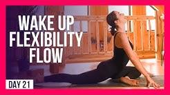 10 min Full Body Flexibility Yoga To WAKE UP – Day #21 (MORNING YOGA FOR FLEXIBILITY)