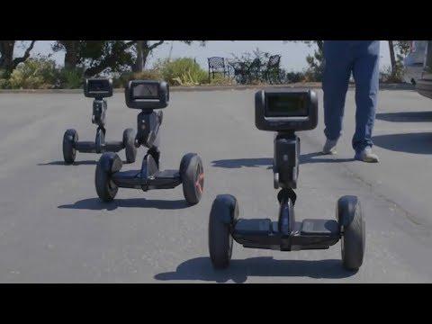 Segway's Autonomous Security Robots