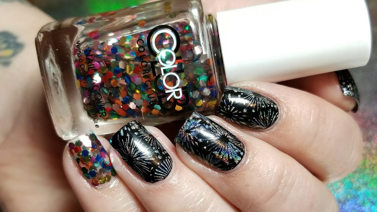 New Years Nails 2018 - YouTube