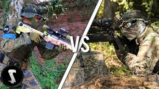 Airsoft YouTubers FREE FOR ALL! (Silo vs Novritsch, Fabi & GsP Crew etc)