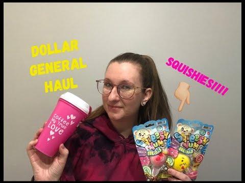 Dollar General Haul  Squishies And Cute Coffee Stuff