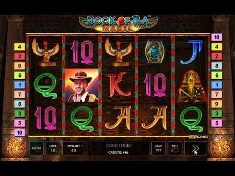 Игровой автомат Book Of Ra Magic (Novomatic)
