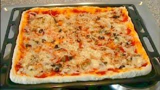 pizza al tonno - an easy tuna fish pizza recipe