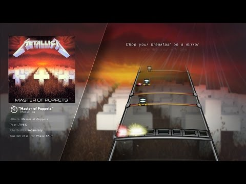 Metallica - Master of Puppets (Drum Chart)