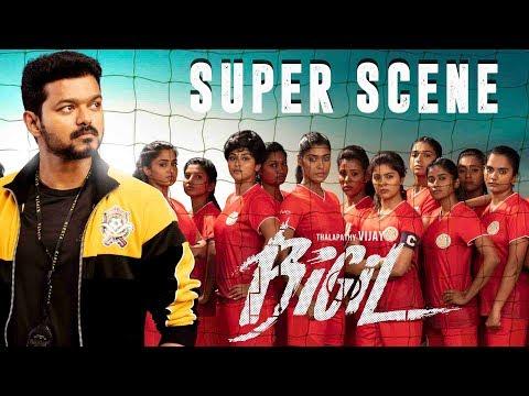 Bigil | 2019 Latest Tamil Movie | Super Scene | Vijay | Nayathara | 4k (English Subtitles)
