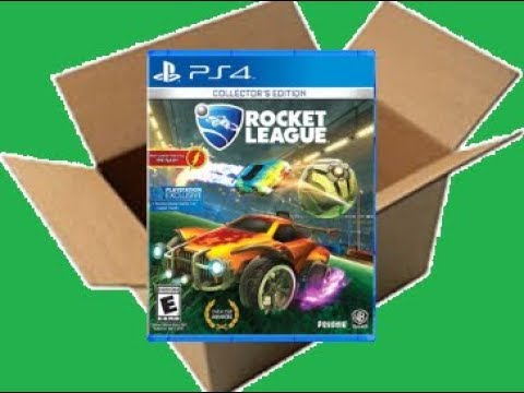 Rocket League [WB Version] [PS4] (Unboxing/Breakdown/Demo)