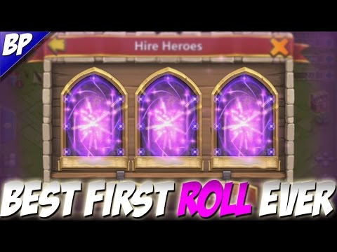 Castle Castle The Best First Roll Ever! (10k F2P Gems)