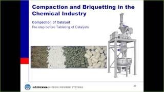 Roller Compaction & Granulation Tec