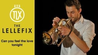 Can you feel the love tonight - Elton John - Trumpet cover (Flugelhorn)