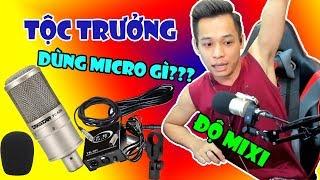 Gambar cover Độ MIXIGAMING Đang Sử Dụng Micro Thu Âm Gì Để Stream Game | Micro Thu Âm Takstar PC K200
