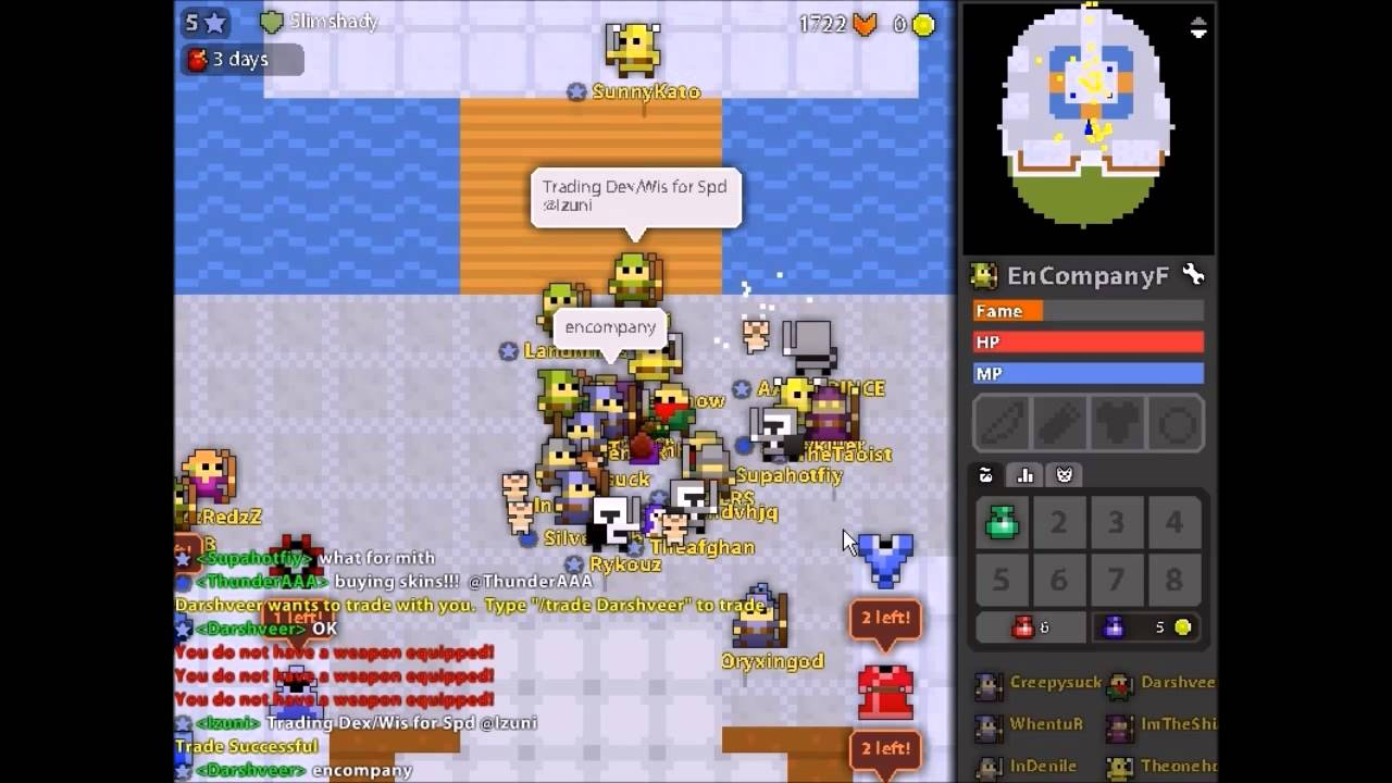 RotMG: Dupe Scam (THE BEST SCAM)