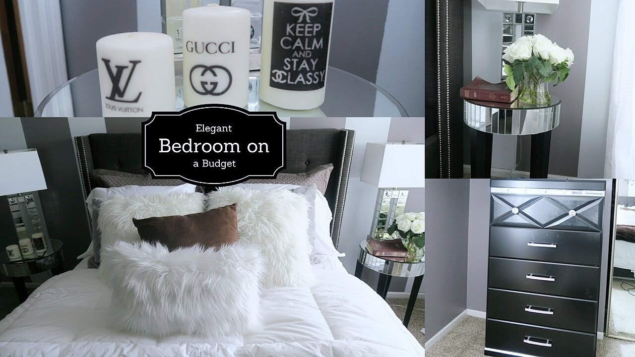Watch How I Transform My Bedroom- DIY Budget Bedroom Makeover ...