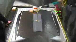 vacuum infusion of an aircraft bulk head