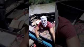 Рыбалка на Или, рыбаки против электроудочников. Жесть
