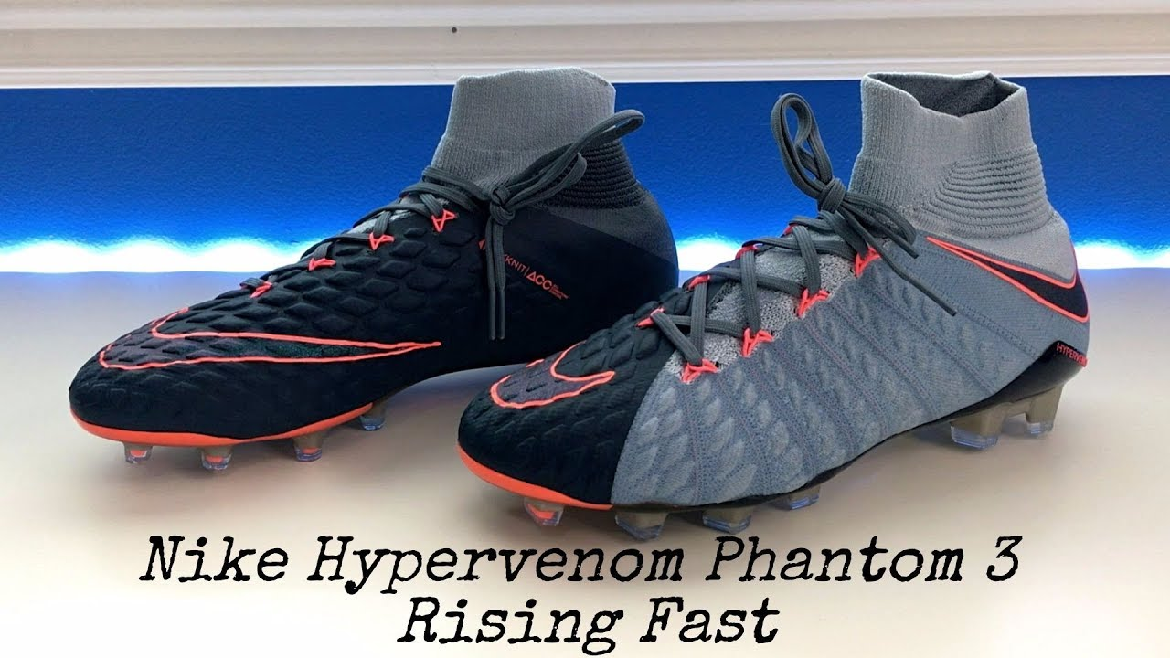 Nike Hypervenom Phantom 3 DF (Rising Fast Pack) - Unboxing, Review & On Feet